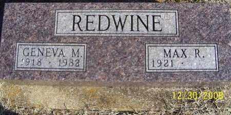 REDWINE, GENEVA M. - Randolph County, Arkansas | GENEVA M. REDWINE - Arkansas Gravestone Photos
