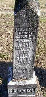 RICHARDSON, MAUDY - Randolph County, Arkansas | MAUDY RICHARDSON - Arkansas Gravestone Photos