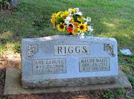 RIGGS, MAUDE MARIE - Randolph County, Arkansas   MAUDE MARIE RIGGS - Arkansas Gravestone Photos