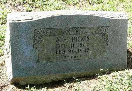 RIGGS, ABRAHAM HAMILTON - Randolph County, Arkansas | ABRAHAM HAMILTON RIGGS - Arkansas Gravestone Photos