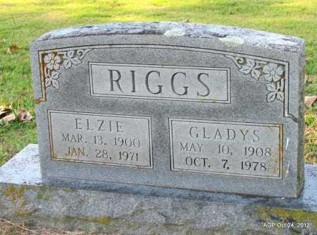 RIGGS, ELZIE - Randolph County, Arkansas | ELZIE RIGGS - Arkansas Gravestone Photos