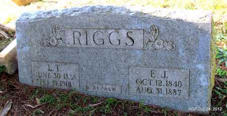 RIGGS, LOGAN THOMAS - Randolph County, Arkansas   LOGAN THOMAS RIGGS - Arkansas Gravestone Photos