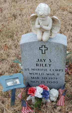 RILEY (VETERAN WWII), JAY S - Randolph County, Arkansas | JAY S RILEY (VETERAN WWII) - Arkansas Gravestone Photos
