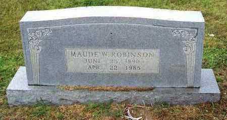 ROBINSON, MAUDE - Randolph County, Arkansas | MAUDE ROBINSON - Arkansas Gravestone Photos