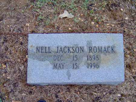 JACKSON ROMACK, NELL - Randolph County, Arkansas | NELL JACKSON ROMACK - Arkansas Gravestone Photos