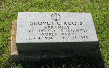 ROOTS  (VETERAN WWI), GROVER C. - Randolph County, Arkansas | GROVER C. ROOTS  (VETERAN WWI) - Arkansas Gravestone Photos