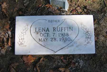 OAKS RUFFIN, LENA - Randolph County, Arkansas | LENA OAKS RUFFIN - Arkansas Gravestone Photos