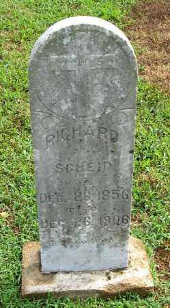 SCHEID, RICHARD - Randolph County, Arkansas | RICHARD SCHEID - Arkansas Gravestone Photos