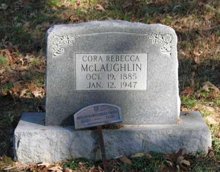 MCLAUGHLIN SCHUNK, CORA REBECCA - Randolph County, Arkansas | CORA REBECCA MCLAUGHLIN SCHUNK - Arkansas Gravestone Photos