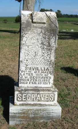SEAGRAVES, SUVILIA - Randolph County, Arkansas | SUVILIA SEAGRAVES - Arkansas Gravestone Photos