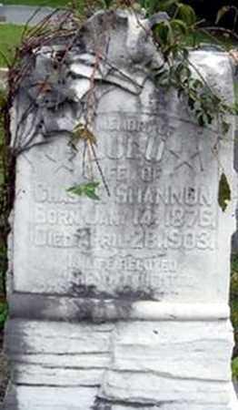 CROCKETT SHANNON, LULU (SARAH LOUELLEN) - Randolph County, Arkansas | LULU (SARAH LOUELLEN) CROCKETT SHANNON - Arkansas Gravestone Photos