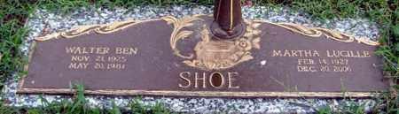 SHOE, MARTHA LUCILLE - Randolph County, Arkansas   MARTHA LUCILLE SHOE - Arkansas Gravestone Photos
