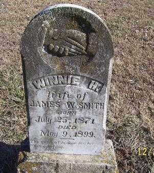 SMITH, WINNIE H. - Randolph County, Arkansas | WINNIE H. SMITH - Arkansas Gravestone Photos