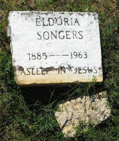 SONGERS, ELDORIA - Randolph County, Arkansas   ELDORIA SONGERS - Arkansas Gravestone Photos