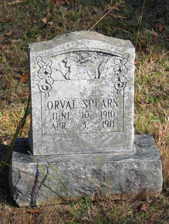 SPEARS, ORVAL - Randolph County, Arkansas | ORVAL SPEARS - Arkansas Gravestone Photos