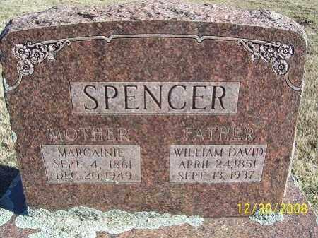 SPENCER, WILLIAM DAVID - Randolph County, Arkansas | WILLIAM DAVID SPENCER - Arkansas Gravestone Photos