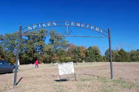 *SPIKES CEMETERY, GATE & DIRECTIONS - Randolph County, Arkansas | GATE & DIRECTIONS *SPIKES CEMETERY - Arkansas Gravestone Photos