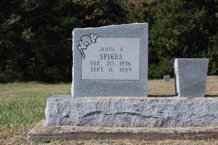 SPIKES, JOHN F. - Randolph County, Arkansas   JOHN F. SPIKES - Arkansas Gravestone Photos