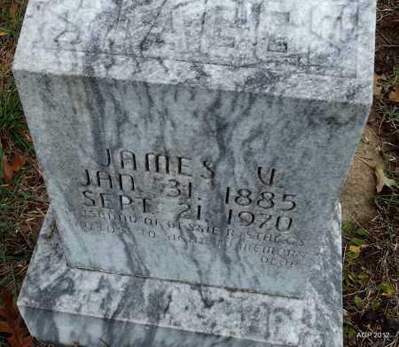STAGGS, JAMES V - Randolph County, Arkansas   JAMES V STAGGS - Arkansas Gravestone Photos