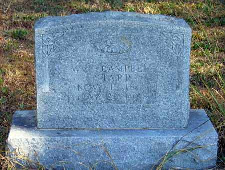 STARR, WILLIAM CAMPBELL - Randolph County, Arkansas | WILLIAM CAMPBELL STARR - Arkansas Gravestone Photos