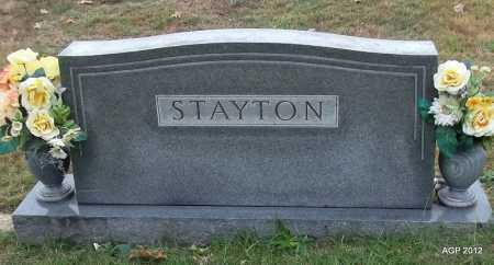 STAYTON, FAMILY STONE - Randolph County, Arkansas   FAMILY STONE STAYTON - Arkansas Gravestone Photos