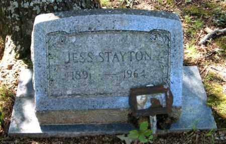 STAYTON, JESS - Randolph County, Arkansas | JESS STAYTON - Arkansas Gravestone Photos