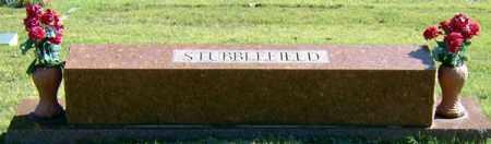 STUBBLEFIELD, FAMILY STONE - Randolph County, Arkansas   FAMILY STONE STUBBLEFIELD - Arkansas Gravestone Photos