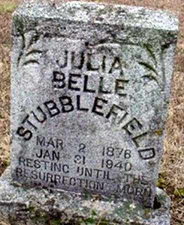 BAKER STUBBLEFIELD, JULIA BELLE - Randolph County, Arkansas | JULIA BELLE BAKER STUBBLEFIELD - Arkansas Gravestone Photos
