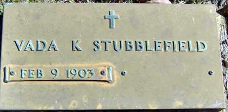 KIRKPATRICK STUBBLEFIELD, VADA - Randolph County, Arkansas | VADA KIRKPATRICK STUBBLEFIELD - Arkansas Gravestone Photos