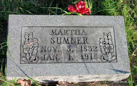 MALONE SUMNER, MARTHA - Randolph County, Arkansas | MARTHA MALONE SUMNER - Arkansas Gravestone Photos