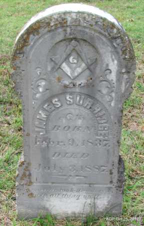 SURRIDGE, JAMES - Randolph County, Arkansas   JAMES SURRIDGE - Arkansas Gravestone Photos