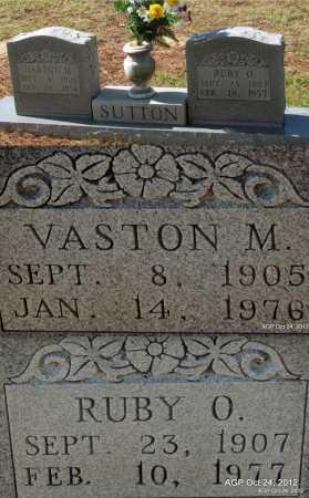 SUTTON, VASTON M - Randolph County, Arkansas | VASTON M SUTTON - Arkansas Gravestone Photos