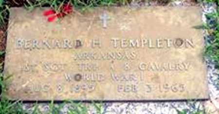 TEMPLETON, BERNARD HARLAN - Randolph County, Arkansas | BERNARD HARLAN TEMPLETON - Arkansas Gravestone Photos