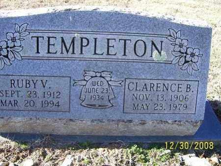 TEMPLETON, RUBY V. - Randolph County, Arkansas   RUBY V. TEMPLETON - Arkansas Gravestone Photos