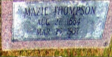 THOMPSON, MAZIE - Randolph County, Arkansas   MAZIE THOMPSON - Arkansas Gravestone Photos