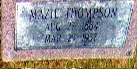 THOMPSON, MAZIE - Randolph County, Arkansas | MAZIE THOMPSON - Arkansas Gravestone Photos