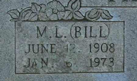 TILLMAN, M.L. BILL - Randolph County, Arkansas | M.L. BILL TILLMAN - Arkansas Gravestone Photos