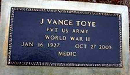 TOYE (VETERAN WWII), JAMES VANCE - Randolph County, Arkansas | JAMES VANCE TOYE (VETERAN WWII) - Arkansas Gravestone Photos