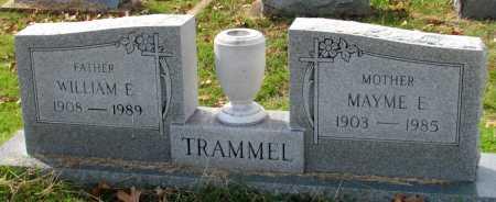 TRAMMEL, WILLIAM EARL - Randolph County, Arkansas   WILLIAM EARL TRAMMEL - Arkansas Gravestone Photos