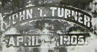 TURNER, JOHN T.  CLOSE UP - Randolph County, Arkansas | JOHN T.  CLOSE UP TURNER - Arkansas Gravestone Photos