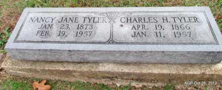 TYLER, CHARLES HARTGROVE - Randolph County, Arkansas | CHARLES HARTGROVE TYLER - Arkansas Gravestone Photos