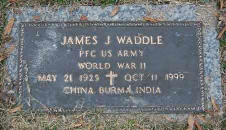 WADDLE (VETERAN WWII), JAMES J - Randolph County, Arkansas | JAMES J WADDLE (VETERAN WWII) - Arkansas Gravestone Photos