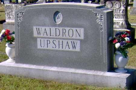 WALDRON UPSHAW, FAMILY STONE - Randolph County, Arkansas | FAMILY STONE WALDRON UPSHAW - Arkansas Gravestone Photos