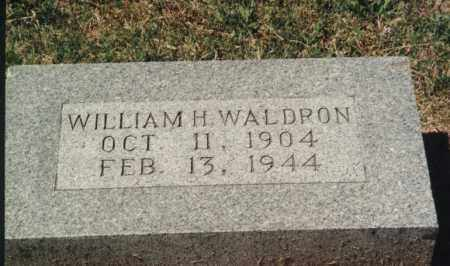 WALDRON, WILLIAM  HENRY - Randolph County, Arkansas | WILLIAM  HENRY WALDRON - Arkansas Gravestone Photos