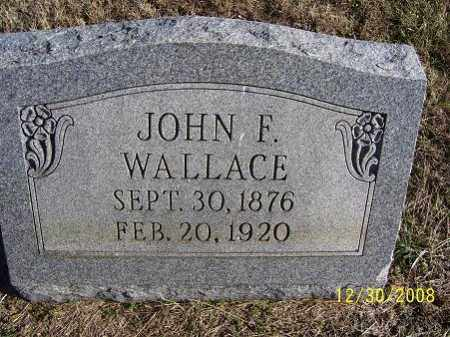 WALLACE, JOHN F. - Randolph County, Arkansas | JOHN F. WALLACE - Arkansas Gravestone Photos