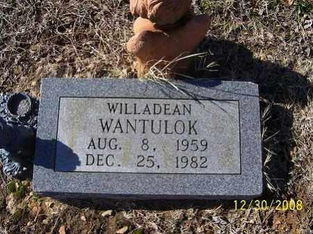 WANTULOK, WILLADEAN - Randolph County, Arkansas | WILLADEAN WANTULOK - Arkansas Gravestone Photos