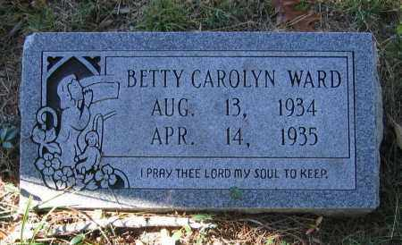 WARD, BETTY CAROLYN - Randolph County, Arkansas | BETTY CAROLYN WARD - Arkansas Gravestone Photos