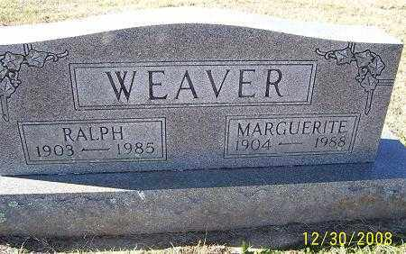 WEAVER, MARGUERITE - Randolph County, Arkansas | MARGUERITE WEAVER - Arkansas Gravestone Photos