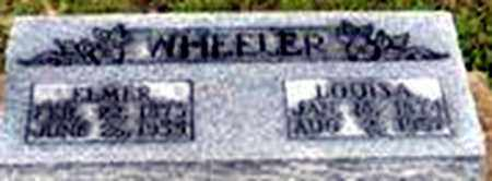 WHEELER, ELMER E - Randolph County, Arkansas | ELMER E WHEELER - Arkansas Gravestone Photos