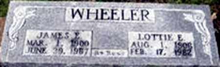 WHEELER, JAMES ELMER - Randolph County, Arkansas | JAMES ELMER WHEELER - Arkansas Gravestone Photos